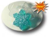Морозная снежинка - форма пластиковая