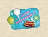 Форма для мыла C днем рождения (торт)