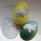 Форма для мыла Яйцо/Кролик